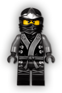 Elemental Cole Minifigure