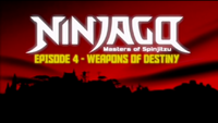 Weapons of Destiny title