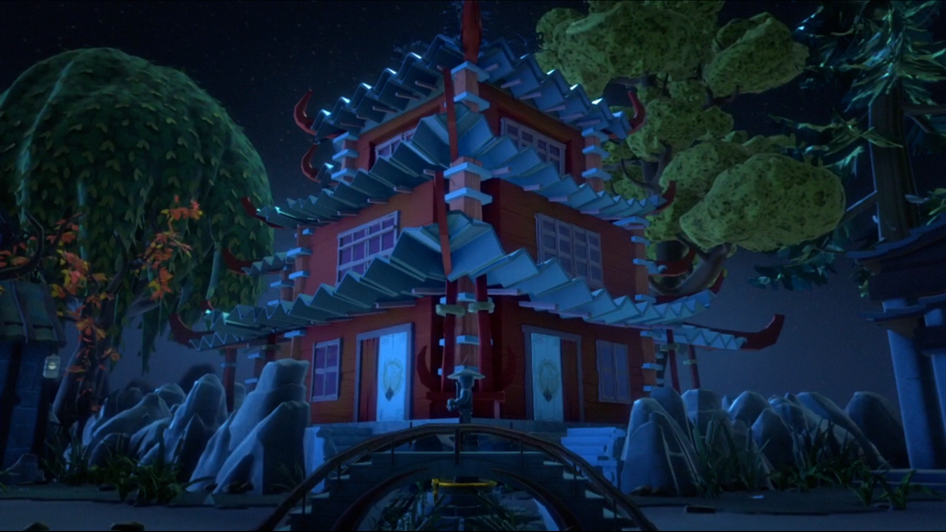 ninjago the temple on haunted hill full episode