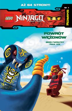 LEGO Ninjago Komiks 1 Powrót Wężonów