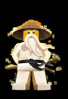 Sensei Wu Illustration