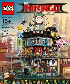 Ninjago city set