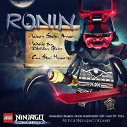 SoR Ronin Poster