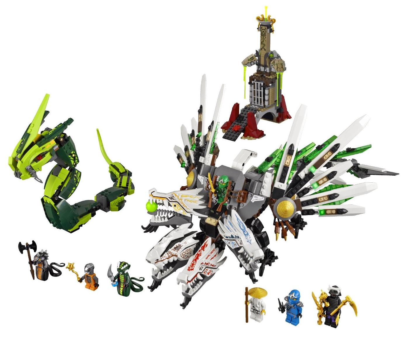 9450 Epic Dragon Battle Ninjago Wiki Fandom Powered By Wikia