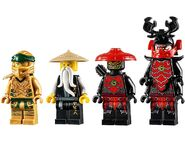 71702 Golden Mech Minifigures