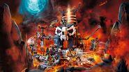 71722 Skull Sorcerer's Dungeons Poster