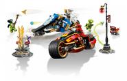 70667 Kai's Blade Cycle and Zane's Snowmobile 2