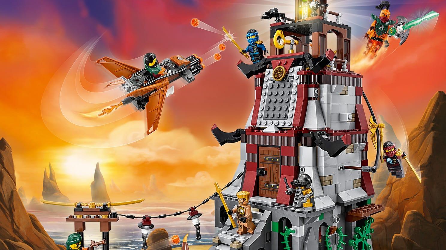 принт-магнит картинки лего ниндзя го с небесными пиратами попав