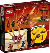 71701 Kai's Fire Dragon Box Backside