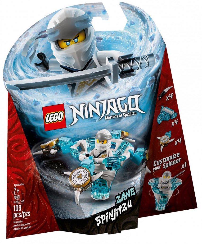 NEW LEGO NINJAGO Jay Spinjitzu Master 70635 Building Kit Spinner Blue Ninja