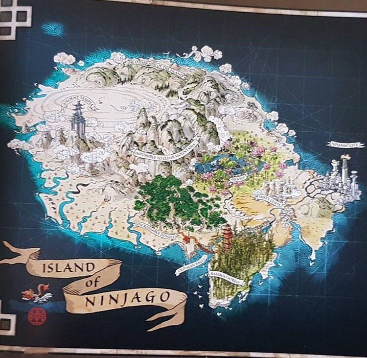 Dragon City Oni Island Map