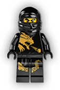 Cole DX Minifigure