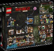70657 Ninjago City Docks Box Backside