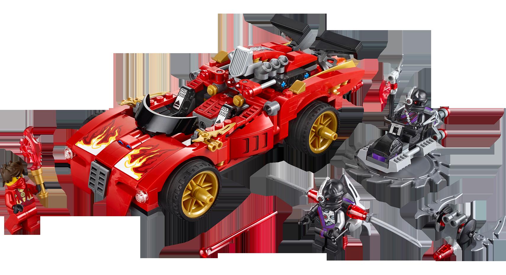 Kai Nindroid 70721 70727 Lego NINJAGO Weapon TECHNO BLADE Techno-Blade Red