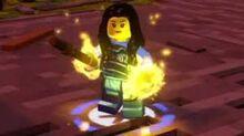 Maya en LEGO Ninjago La Pelicula el Videojuego.