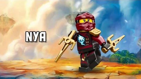 Nya - LEGO Ninjago - Character Spot
