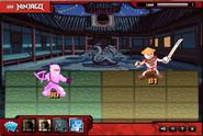 Pink ninja cameo