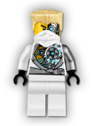 Battle Damaged Zane Minifigure