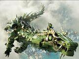 Механический Дракон Зелёного Ниндзя