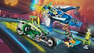 71709 Jay and Lloyd's Velocity Racers Poster