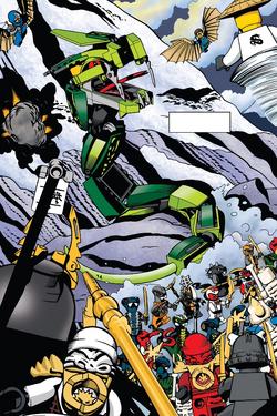 Comic Alternate Final Battle