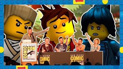 LEGO Ninjago Panel Exclusive Season 9 Q&A with Fans - SDCC 2018