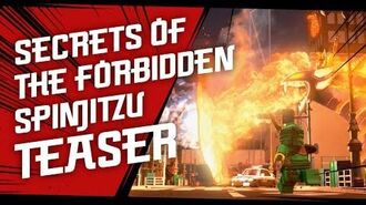 LEGO NINJAGO - Secrets of the Forbidden Spinjitzu – TEASER
