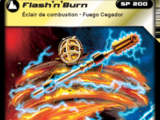 Card 73 - Flash'n'Burn