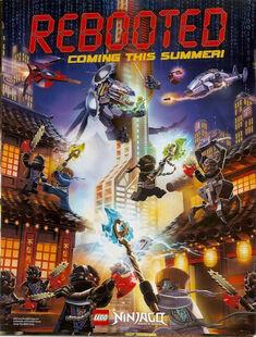 Ninjago Season 3 Promotional Poster