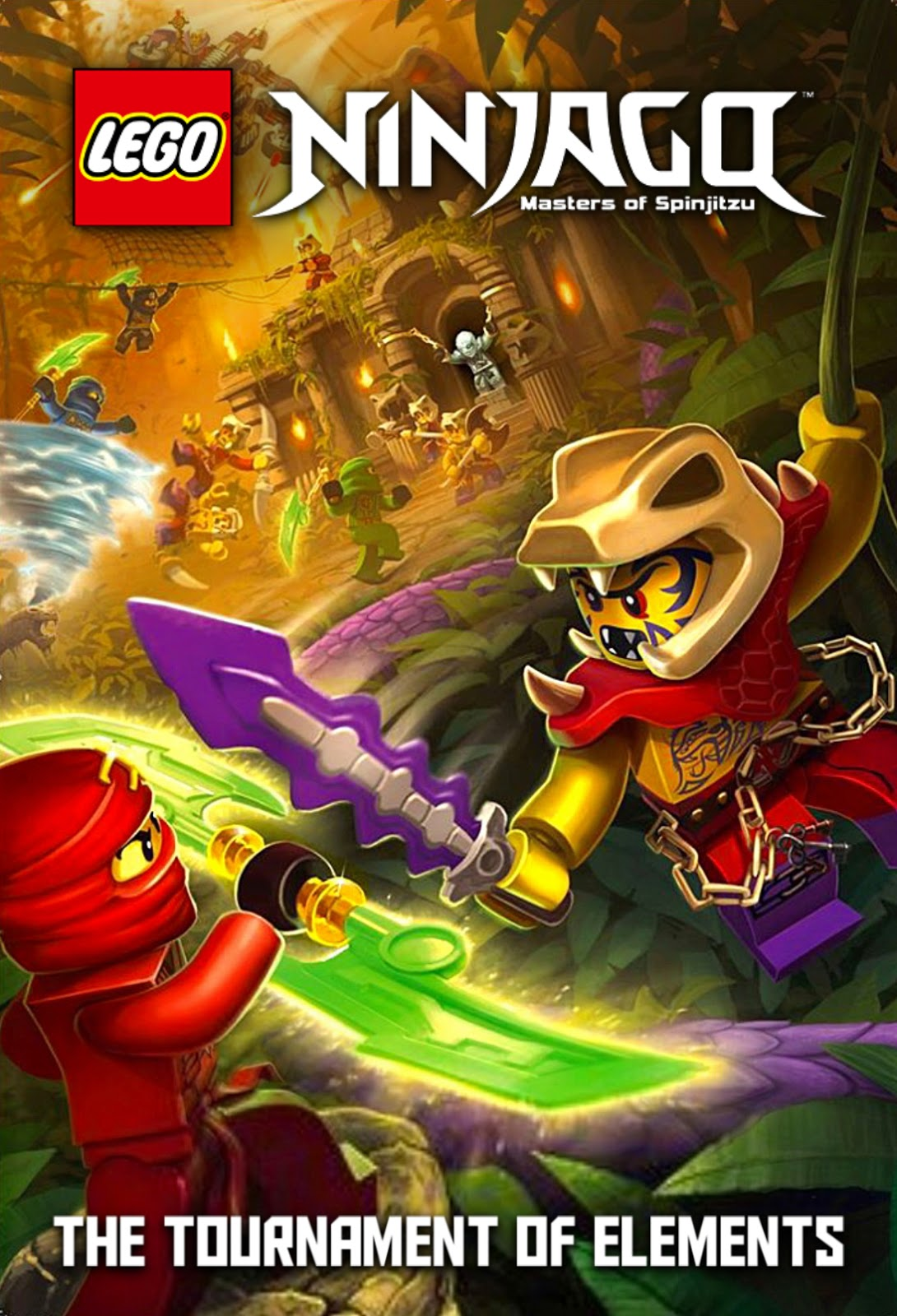 40-Power Ninja Team-héros carte-Lego Ninjago série 4