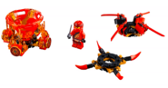 70659 Spinjitzu Kai 2019 Set