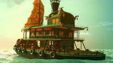 LEGO Ninjago Захватывающая история Сквиффи и Бакко