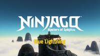 Blue Lightning Title Card