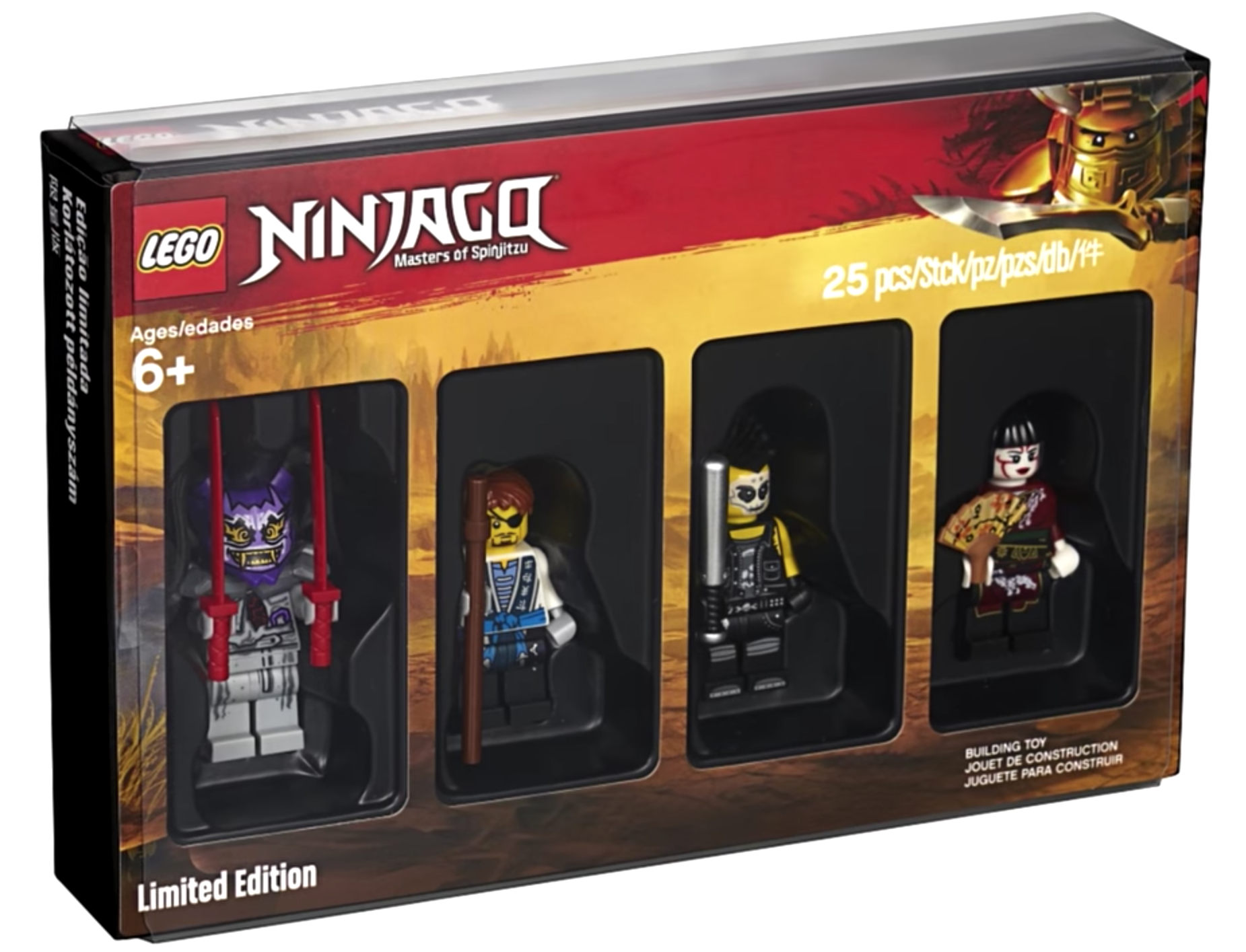 5005257 Ninjago Minifigure Collection Ninjago Wiki Fandom