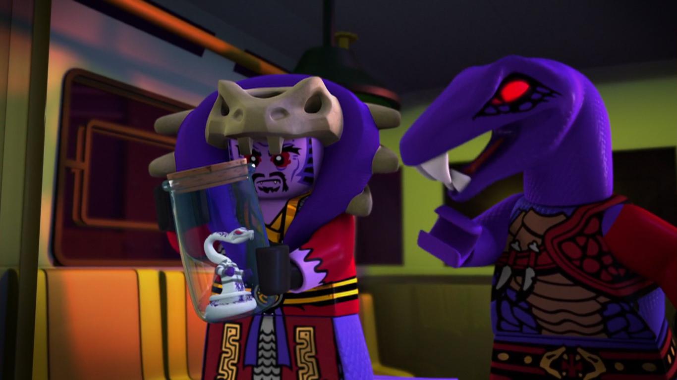 Pythor Serpentine ninjago characters