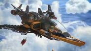 Sky Pirate Jet - LEGO Ninjago - 70601 - Product Animation