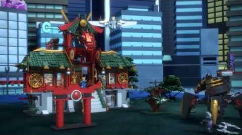 LEGO Ninjago Rebooted Batalla por la Ciudad de Ninjago
