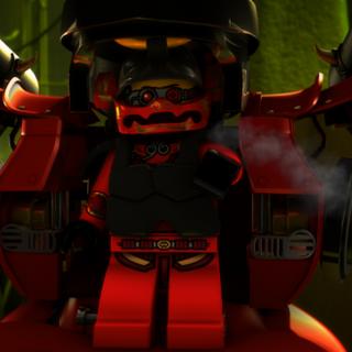 <b>Nya en su exotraje samurai</b>