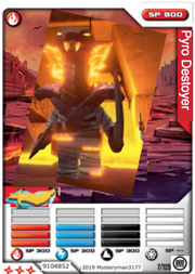 Pyro Destroyer card