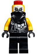 Sons of Garmadon Chopper Maroon Minifigure