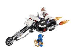 2259 Skull Motorbike