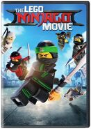 The LEGO Ninjago Movie DVD