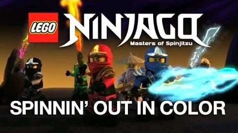 "LEGO NINJAGO ""Spinning Out In Color"" Official Video by The Fold"