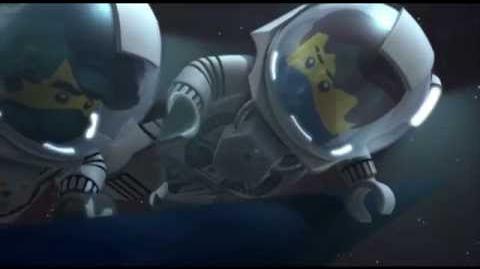 """LEGO NINJAGO IN SPACE """"We Are Ninja!"""" Sneak Peek-2"""