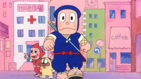 Ninja Hattori 1981 anime - Opening Intro 3 song - English India dub