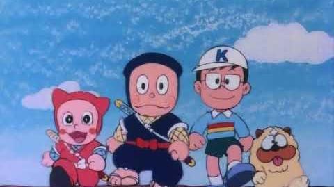 Ninja Hattori 1981 anime - Opening Intro 1 song - English India dub