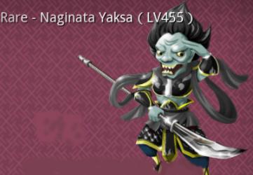Naginata Yaksa