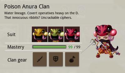 Poison Anura Info