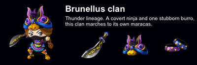 Brunellus Clan event