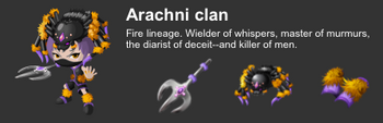 Arachni Clan event descript